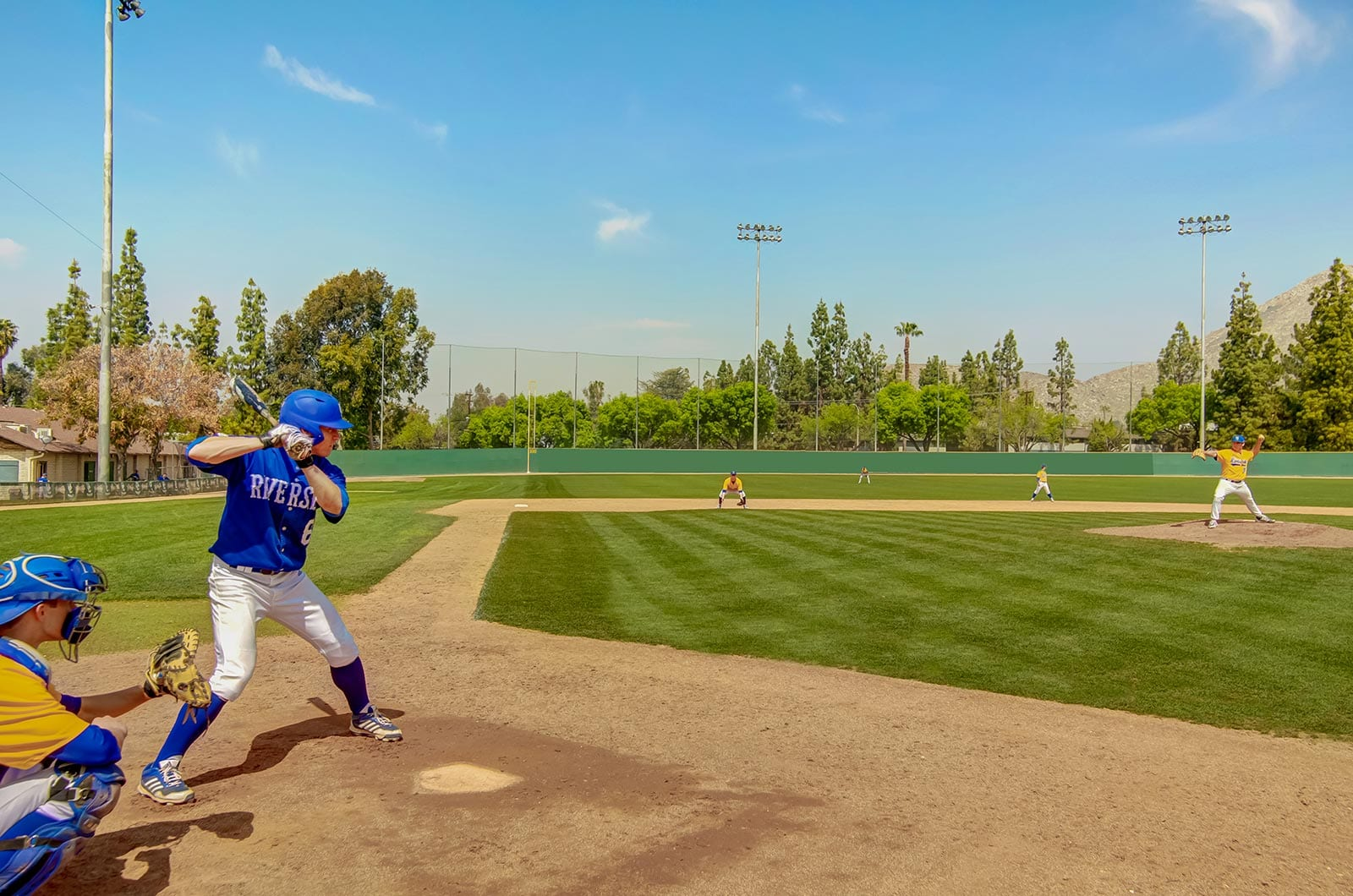UCR-Baseball-Team-At-Action-360-Tours-Virtual-Tour-Company-College-Vitual-Tours-Virtual-Tours-For-College