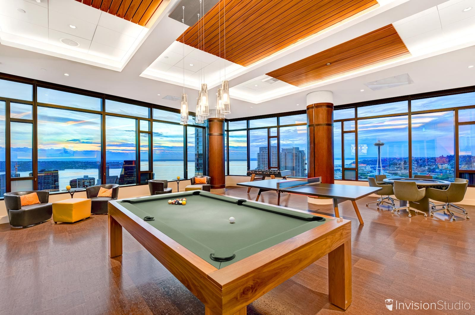 Game Room in Los Angeles Office Building   Matterport 3D Tours Los Angeles   Matterport 3D Visualization Los Angeles   Matterport Immersive Virtual Reality