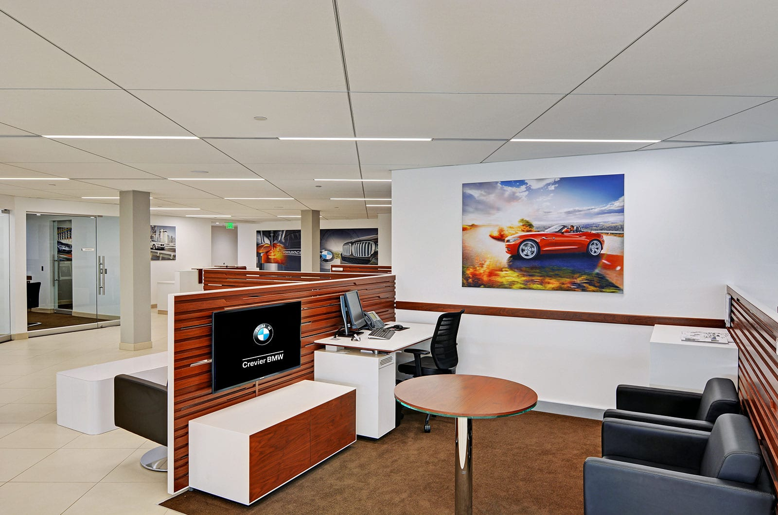 Car Dealership Sales Office Design