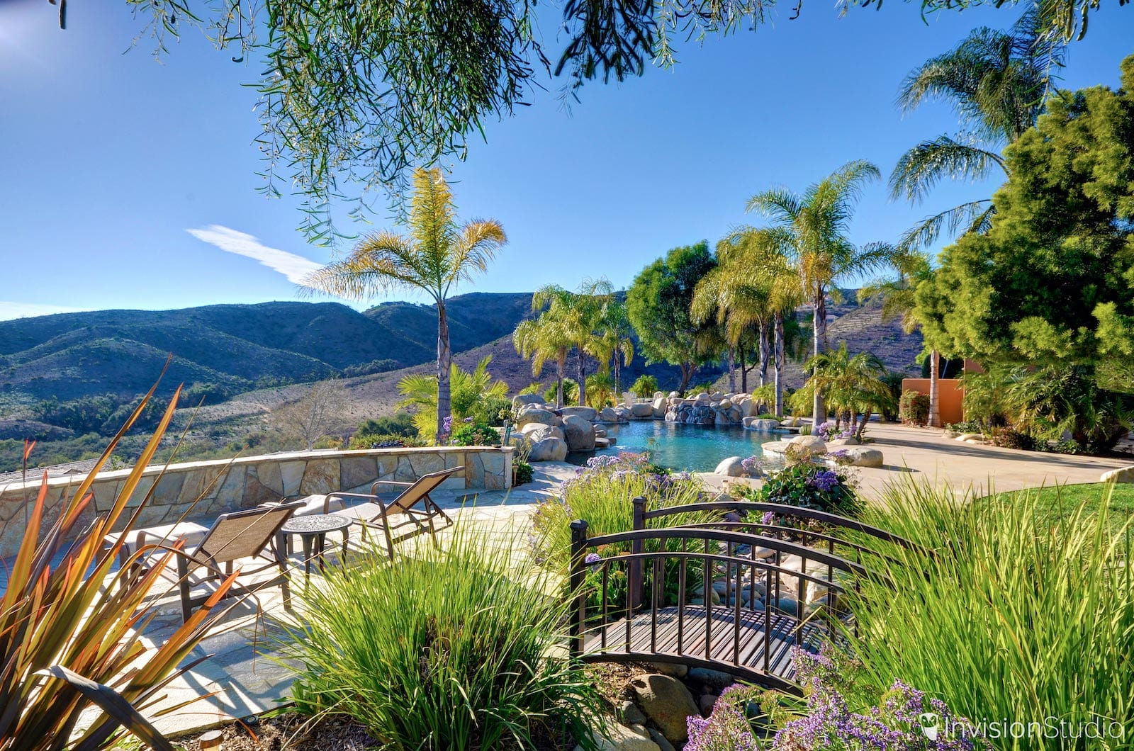 Backyard View of San Diego, Ca Property | 360 Virtual Tour Photographer San Diego | 360 Photography Services San Diego | 360 Panoramic Photography San Diego