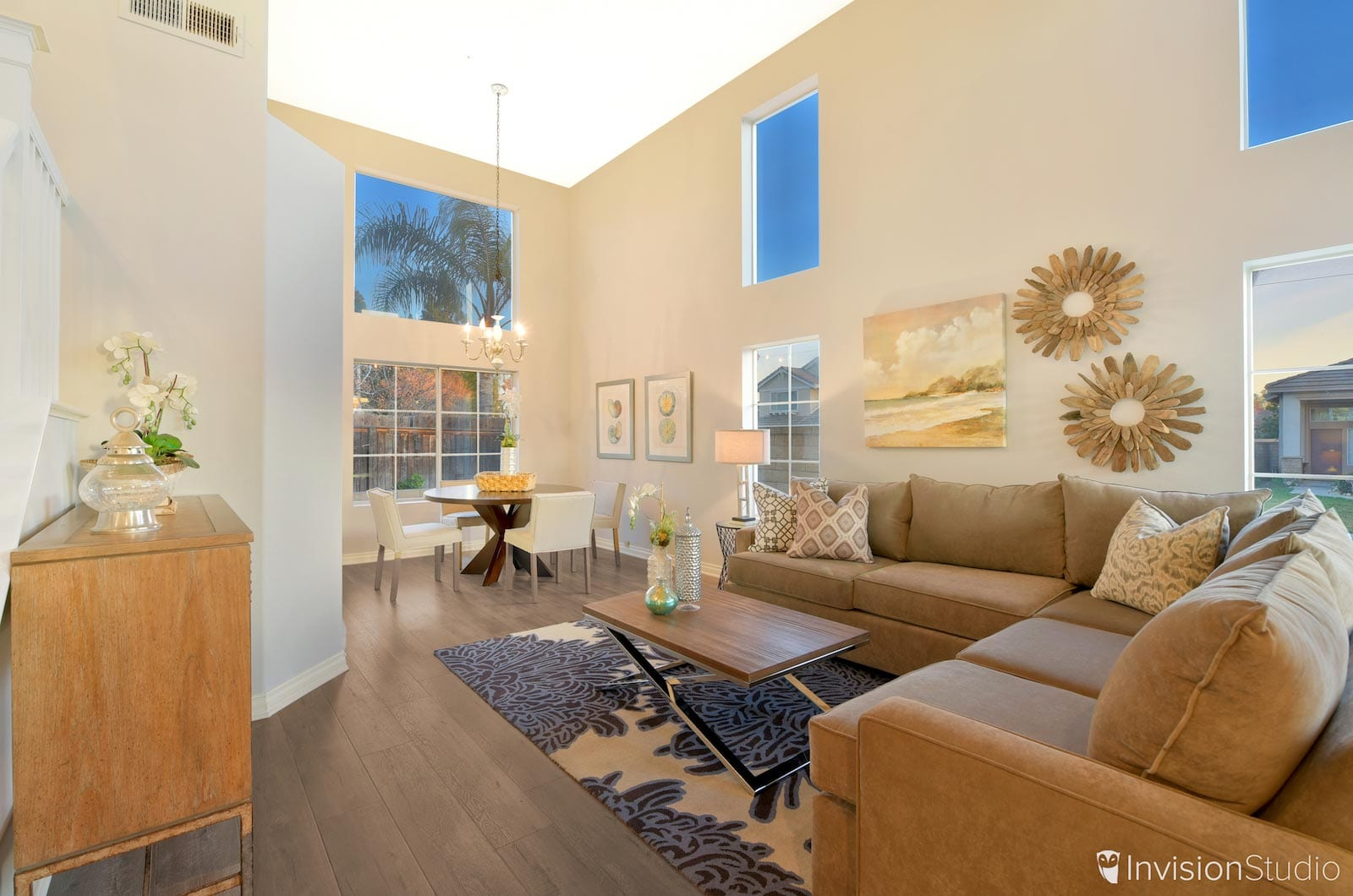 Living Room 2 | Orange County HDR Real Estate Photographer | Orange County Virtual Tour Photographer | Orange County Aerial Photography Services | Orange County Matterport 3D Tour Service Provider