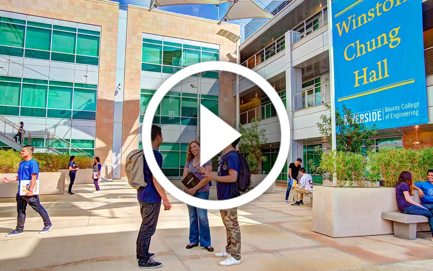 UCR-Video-Play | College Virtual Tours | Aerial Photography Services | University Virtual Tour Company