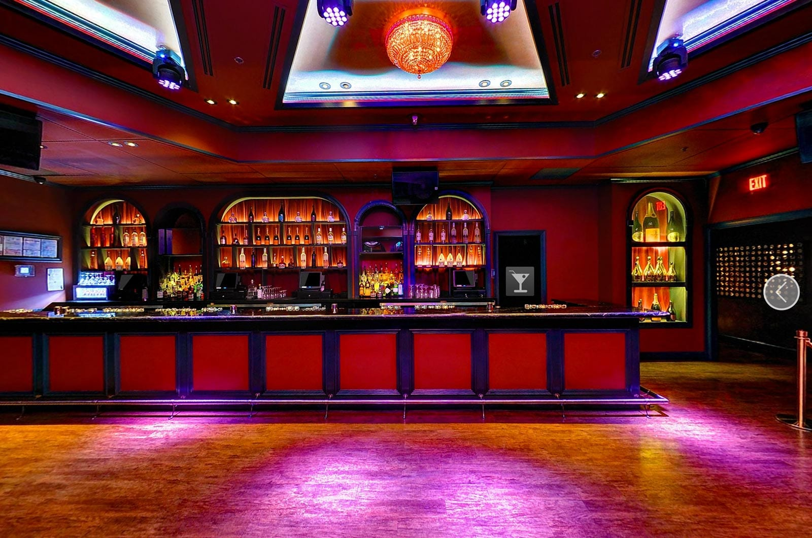 The Huxley DC Nightclub Virtual Tour | Nightclub Virtual Tour | Club Virtual Tours | Nightclub 360 Photography