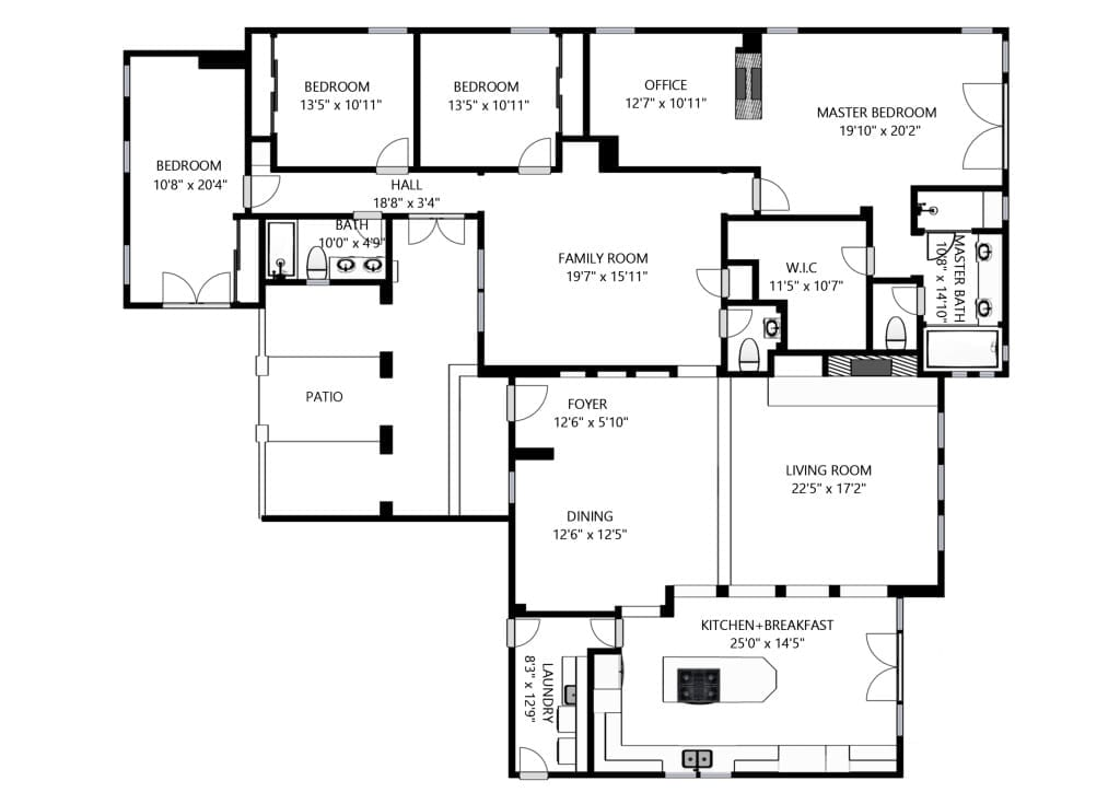 Create Schematic Floor Plans Directly From A 3d Tour Space