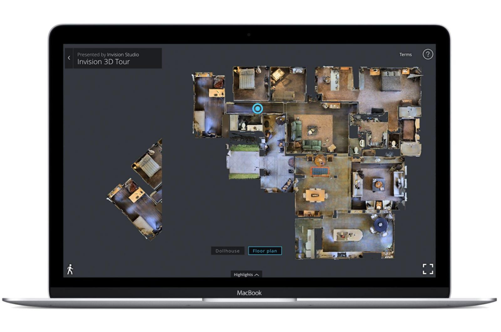 Schematic Floor Plans   Luxury Real Estate 3D Tours