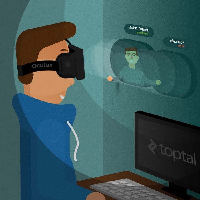 Toptal and Facebook - Creating a Global Virtual Office | VR | Virtual Reality | VR Headsets