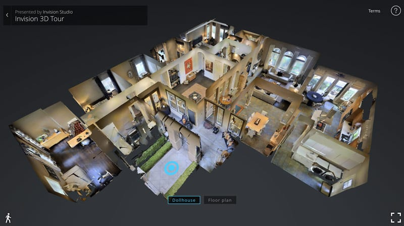 Virtual tours real estate photography aerial photography for 3d virtual tour house plans