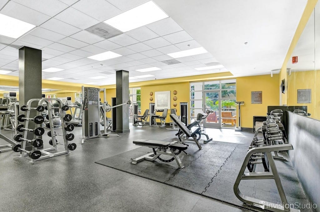 Gym Area | Commercial Photography Service | 6 Photography Tips to Making Your Property Stand Out | Interior Photography Service | Property Photography Company