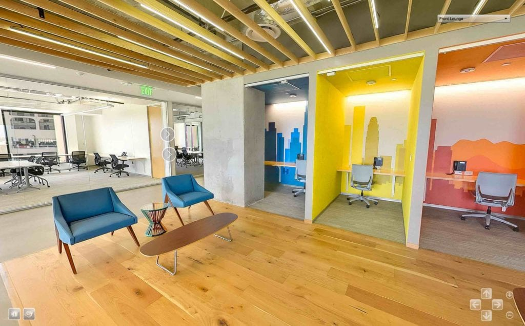 Commercial Real Estate Virtual Tour | Creative Office Virtual Tours