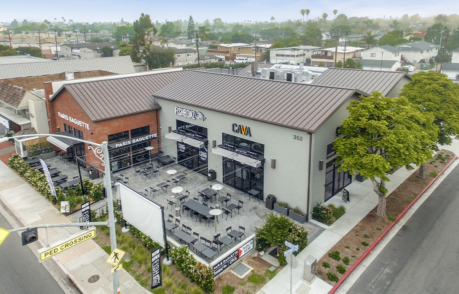 350 E. 17th Street | Aerial Photography Services Orange County Los Angeles